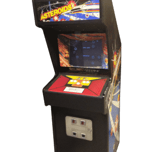 Original Asteroids Arcade Machine