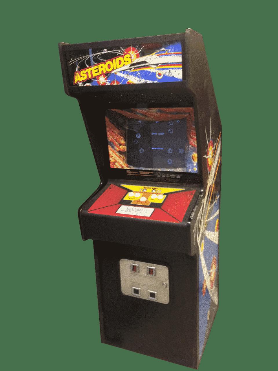 Original Asteroids Arcade Machine