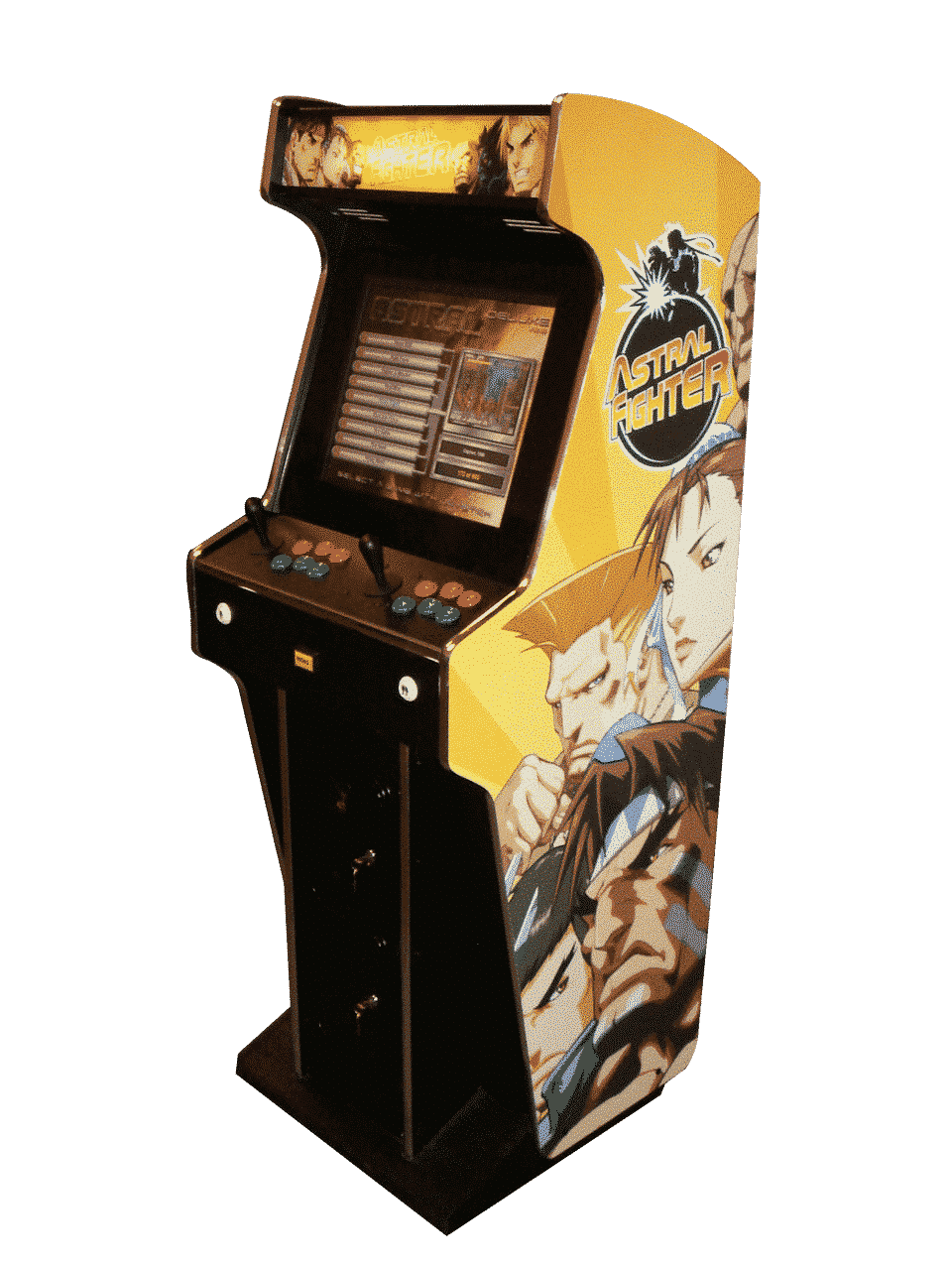 Astral Fighter Arcade Machine