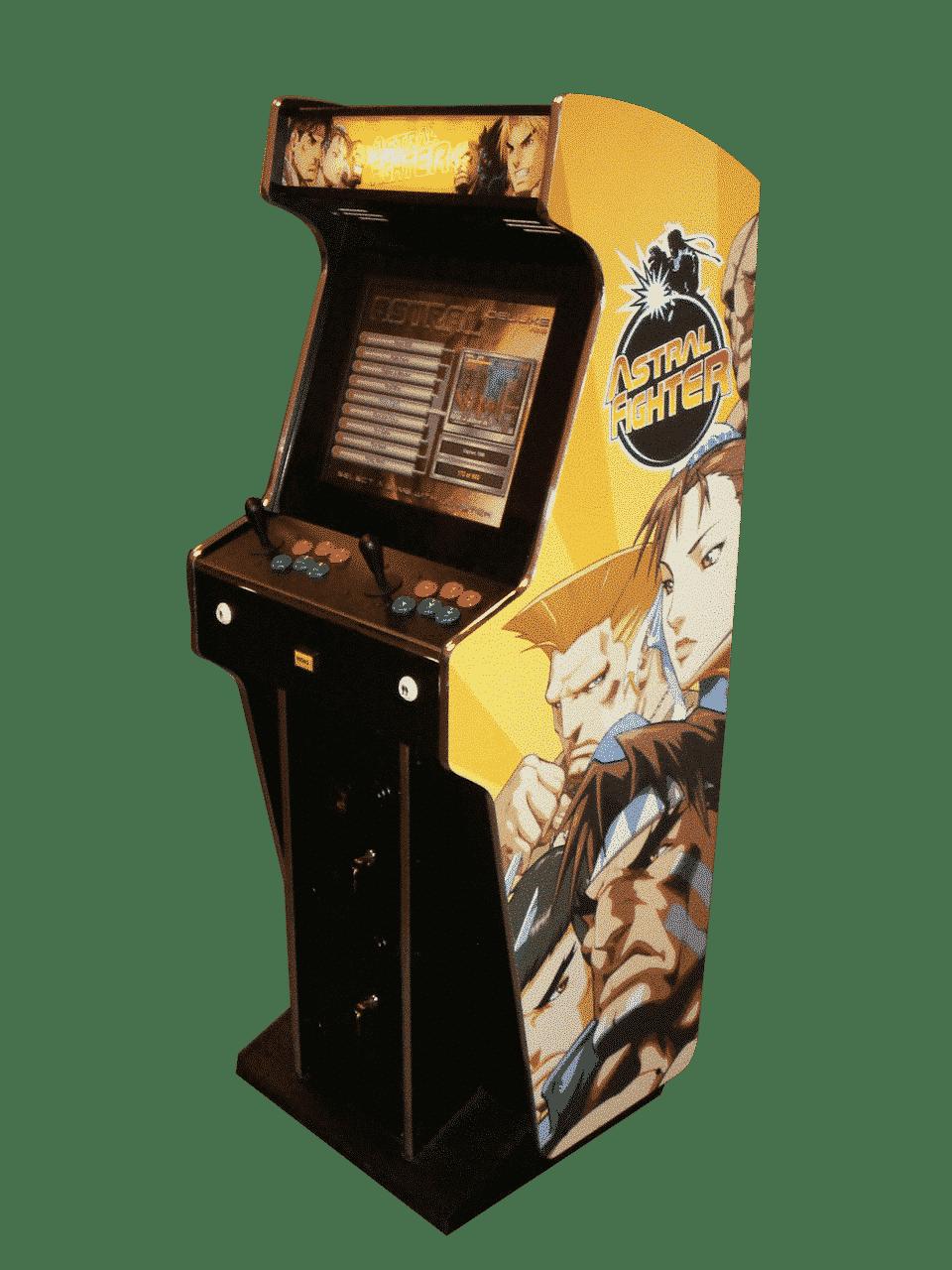 Long Term Multi Play Arcade Machine Hire