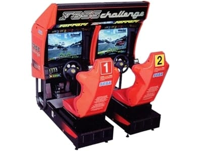 F355 Challenge Twin Arcade Machine