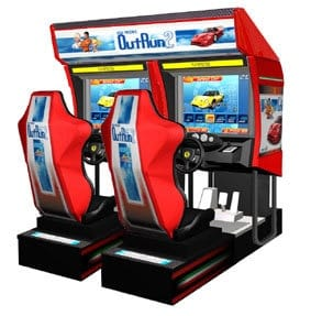 Outrun 2 (2006 Upgrade) Arcade Machine