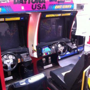 Daytona USA Twin Arcade Machine