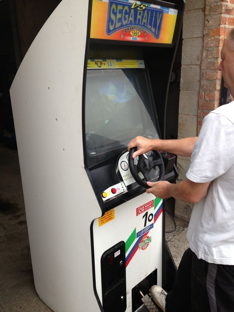 Sega Rally 1 Upright Arcade Machine