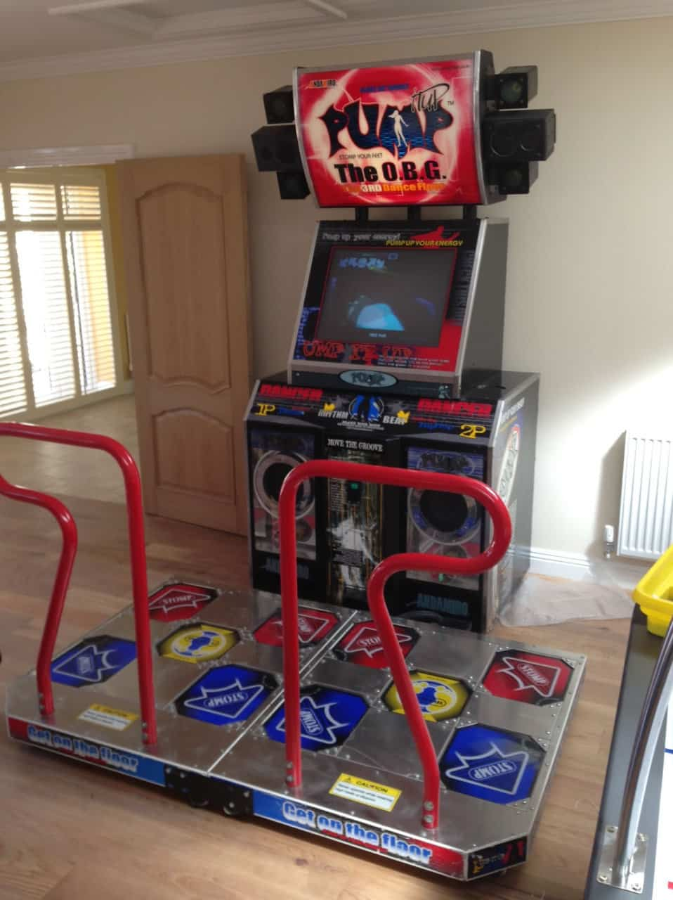 Pump It Up Dance Machine (TFT Upgrade)