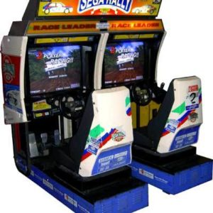 Sega Rally 1 Arcade Machine