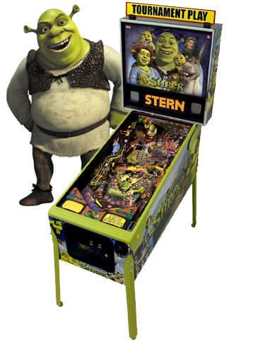 Shrek Pinball Machine