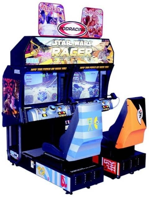 Star Wars Racer Arcade Machine