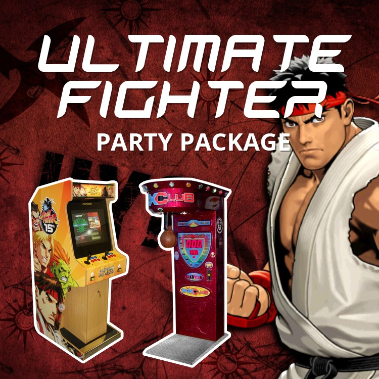 Ultimate Fighter Party Package