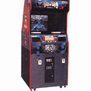 House of Dead Sega Original Arcade Machine