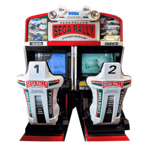 Sega Rally 2 Twin racing game