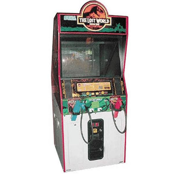 The Lost World: Jurassic Park Arcade Machine