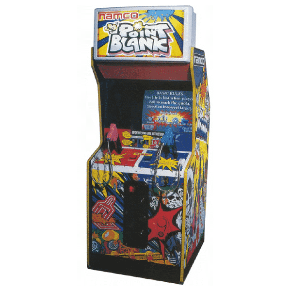 Point Blank Original Namco Arcade Machine