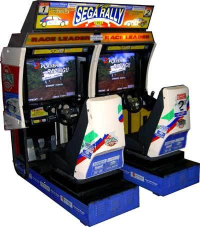 Sega Rally Twin Arcade Machine