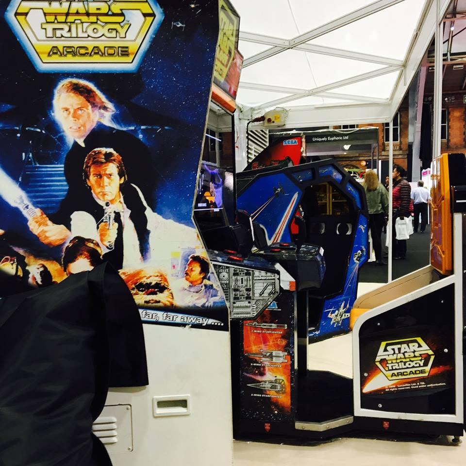 Star Wars Arcade Machines