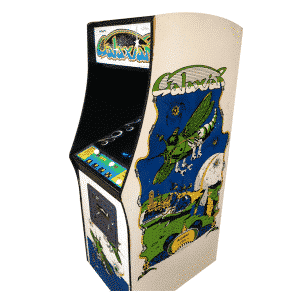 Original Galaxian Arcade Machine