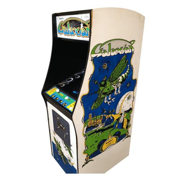 Original Galaxian Arcade Machine