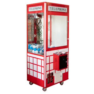 telephone box grabber claw machine