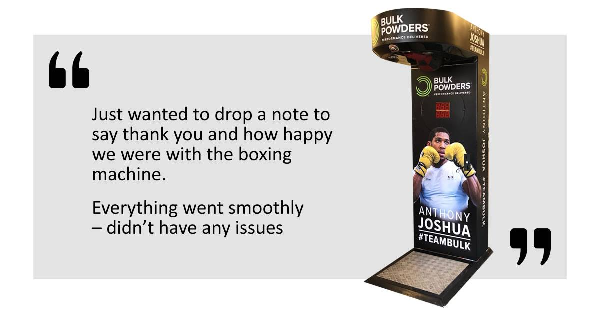 Custom boxing machine review