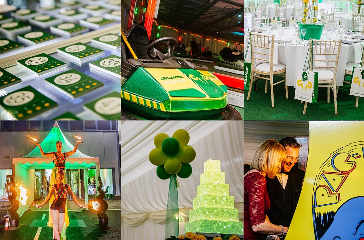 event branding and customisation