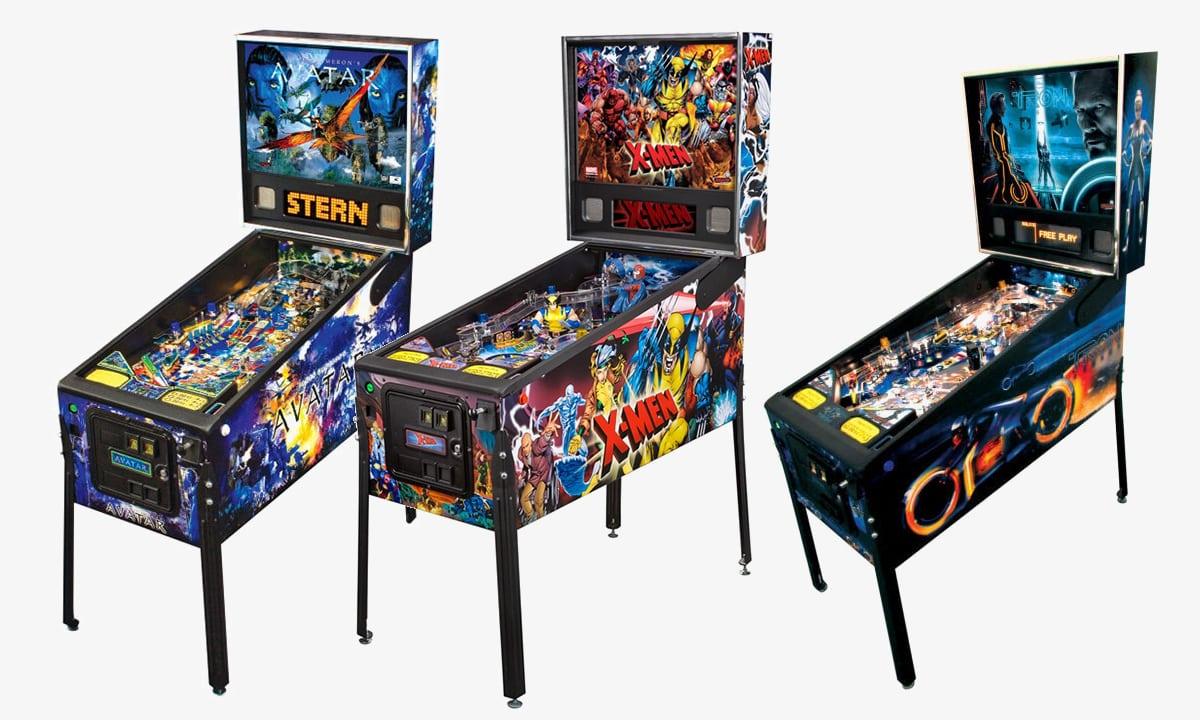 Stern Pinball Machines